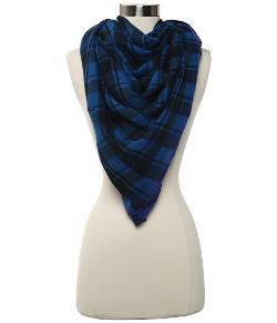Marc by Marc Jacobs -  Scarlette Check Scarf