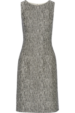 Oscar De La Renta - Bouclé-Tweed Dress