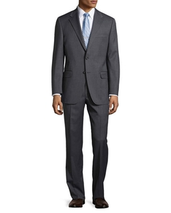 Hickey Freeman   - Lindsey Two-Piece Narrow Stripe Suit