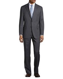 Hickey Freeman   - Lindsey Two-Piece Narrow Stripe Suit