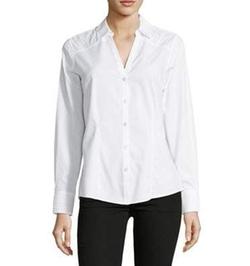 Lord & Taylor - Rita Button-Down Shirt