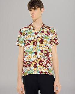 Sandro - Hawaiian Print Sport Shirt
