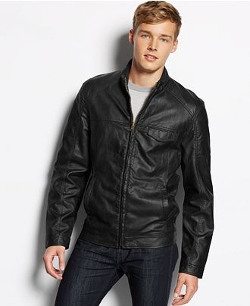 American Rag - Faux Leather Moto Jacket
