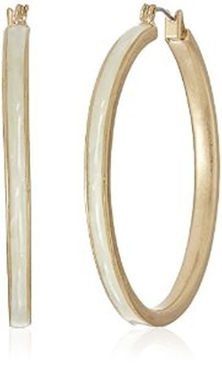 Kenneth Cole New York  - Palm Desert Shell Hoop Earrings