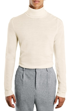 Topman - Merino Wool Turtleneck Sweater