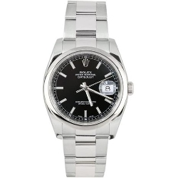 Rolex - Oyster Band Stainless Steel Watch