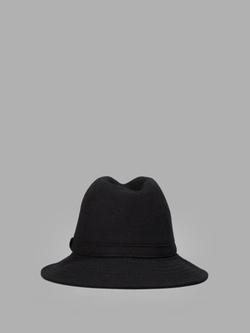 Yohji Yamamoto - Black Fedora Hat