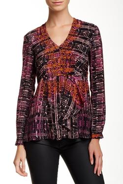 Nanette Lepore - Handloom Silk Blouse