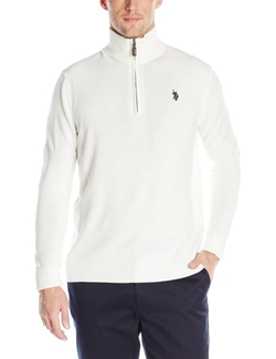 U.S. Polo Assn. - Solid 1/4 Zip Sweater