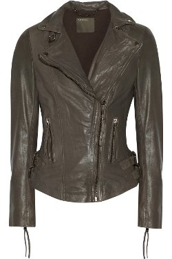 Muubaa  - Reval Leather Biker Jacket