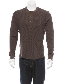 Eidos - Waffle Knit Thermal Shirt