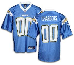Reebok  - San Diego Chargers NFL Mens Team Replica Jersey