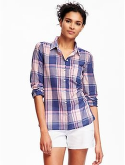 Old Navy - Plaid Shirt