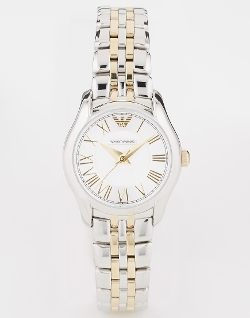 Emporio Armani - Two Tone Bracelet Watch