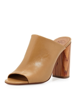 Tory Burch - Raya Leather Mule Sandal