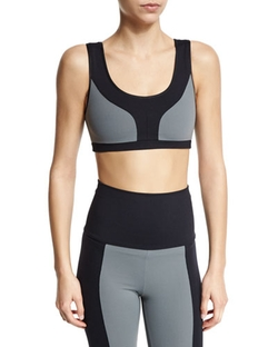 Live The Process - Scoop Colorblock Sports Bra