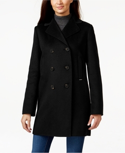 Michael Michael Kors - Double Face Double-Breasted Peacoat