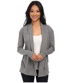 Alternative - Eco Jersey Rib Sleeve Wrap Cardigan