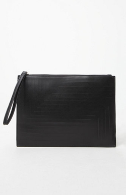 Nila Anthony - Faux Leather Clutch Bag