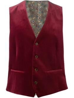 Etro   - Velvet Waistcoat