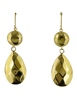 Lord & Taylor - Faceted Teardrop & Ball Earrings