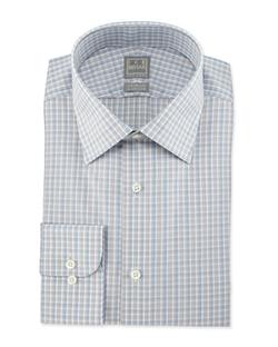 Ike Behar  - Check Woven Dress Shirt