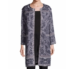 Kobi Halperin  - Bree Long Printed Coat