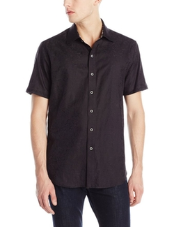 Robert Graham - Society Island-Short Sleeve Button Down Shirt