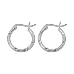 Chaps - Metallic Small Hoop Earrings