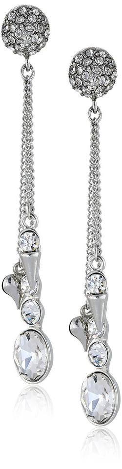 Betsey Johnson - Linear Drop Earrings