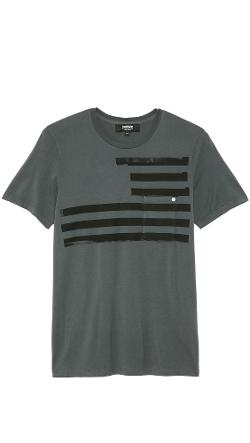 Baldwin Denim  - Flag Screen T-Shirt