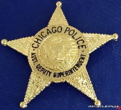 Cop Collector - Asst. Deputy Superintendent Badge