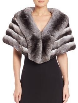 The Fur Salon  - Chinchilla Fur Cape