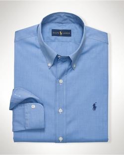 Ralph Lauren - Solid Cotton Poplin Shirt