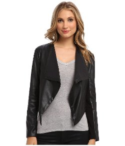Marc New York by Andrew Marc  - Cascade Front PU Jacket
