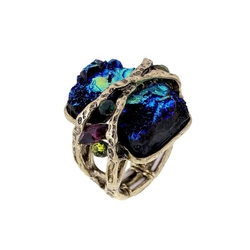 Kaymen Fashion Jewellery - Cubic Gem Ring