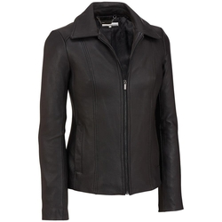Wilsons Leather - Shirt-Collar Lamb Scuba Jacket