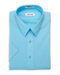 Pierre Cardin -  Short Sleeve Dress Shirt