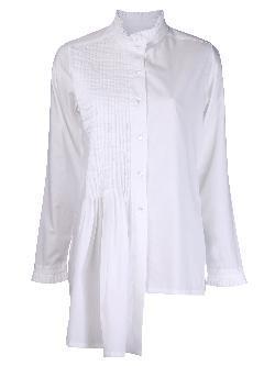 IVAN GRUNDAHL  - pleated collar shirt
