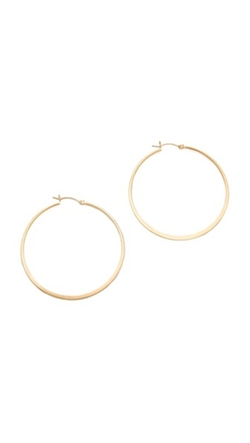 Jennifer Zeuner Jewelry  - Small Hoop Earrings