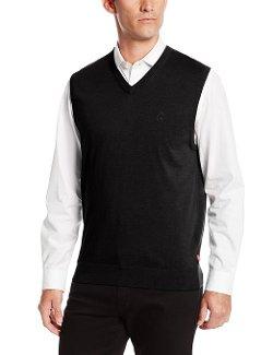 Izod  - Essential V-Neck Sweater Vest
