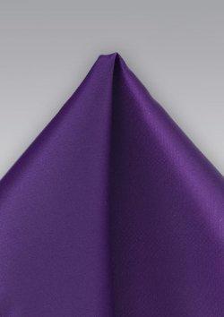 Mens-Ties - Deep Purple Mens Pocket Square