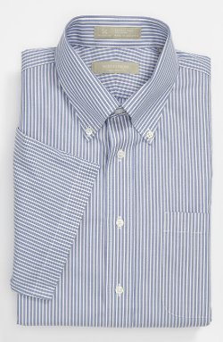 Nordstrom - Traditional Fit Short Sleeve Dress Shirt