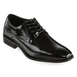 Stacy Adams - Wayde Plain Toe Leather Lace Oxford Shoes