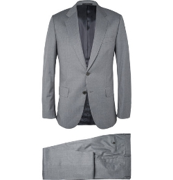 Paul Smith London - Grey Mayfair Slim-Fit Wool Suit