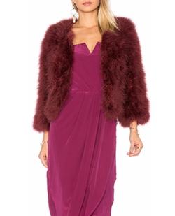Yumi Kim - Away We Go Fur Jacket