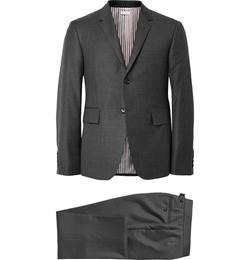 Thom Browne - Grey Wool Suit