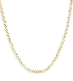 VistaBella - Cuban Curb Chain Necklace