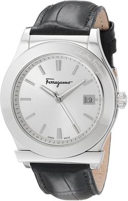 Salvatore Ferragamo - Analog Display Quartz Black Watch