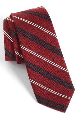 1901 - Browne Woven Wool & Silk Tie
